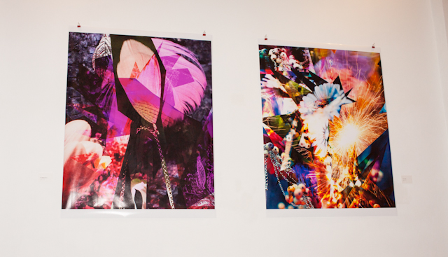 left: do wrong right, right: flaky one ca 80x120cm.